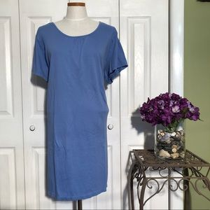LLBean T-shirt dress